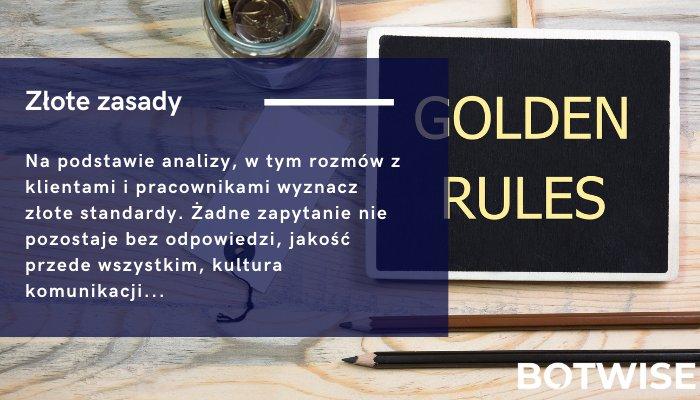 Wyznacz złote zasady