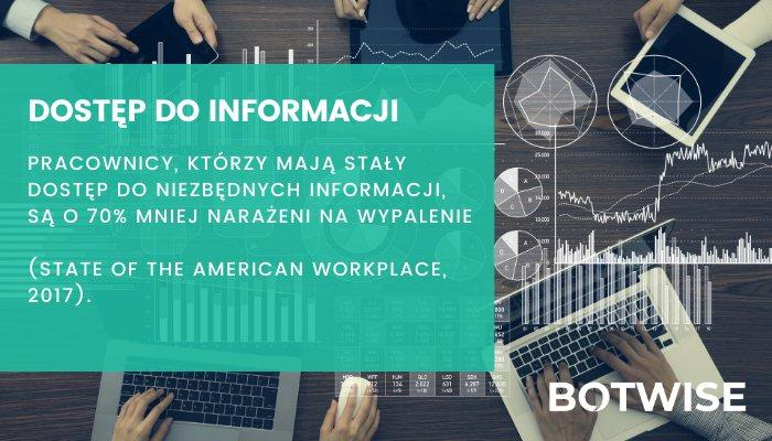 Warto zadbać o to, by pracownicy mieli dostęp do informacji