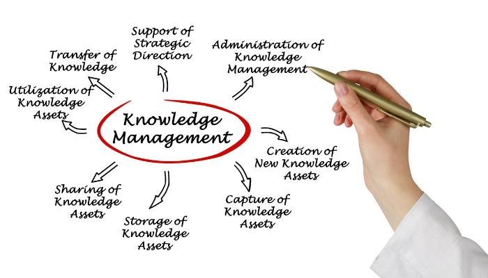 Knowledge management chart