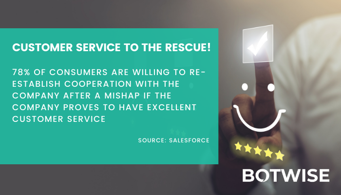 Customer service can help or destroy the business